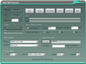 Aktiv MP3 Recorder - Main View
